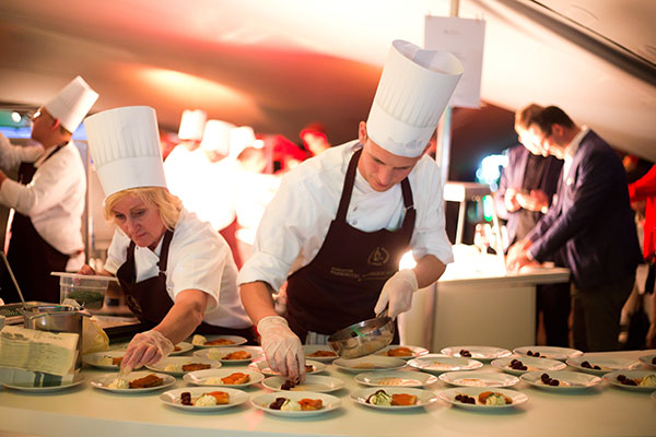 Catering Team auf Event