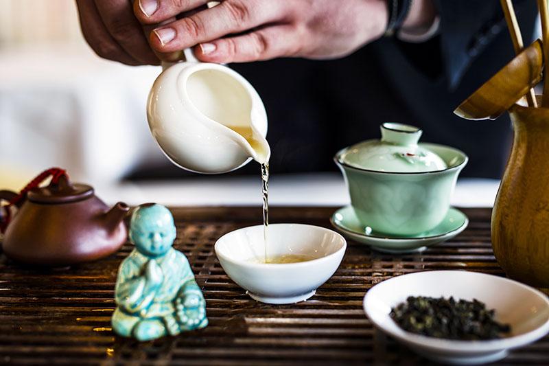 Tea Time auf der Wasserburg Anholt
