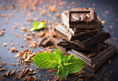 Tee und Schokolade