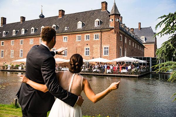 Heiraten auf Schloss Anholt