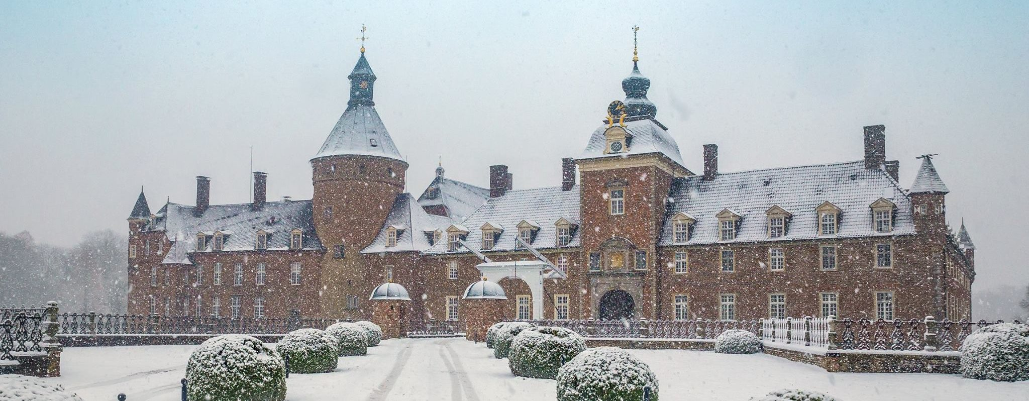 Schloss Anholt im Winter