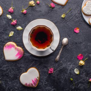 Tea Time zum Valentinstag