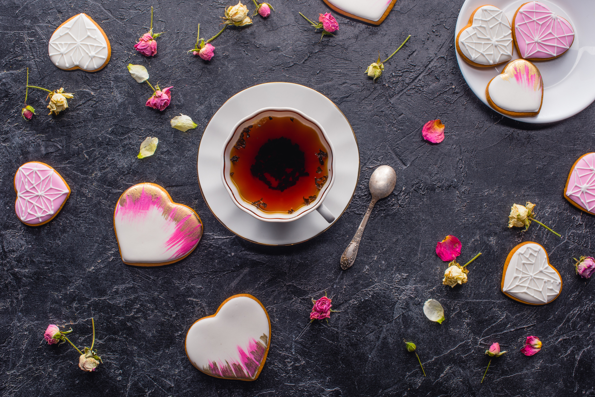 Tea Time zum Valentinstag